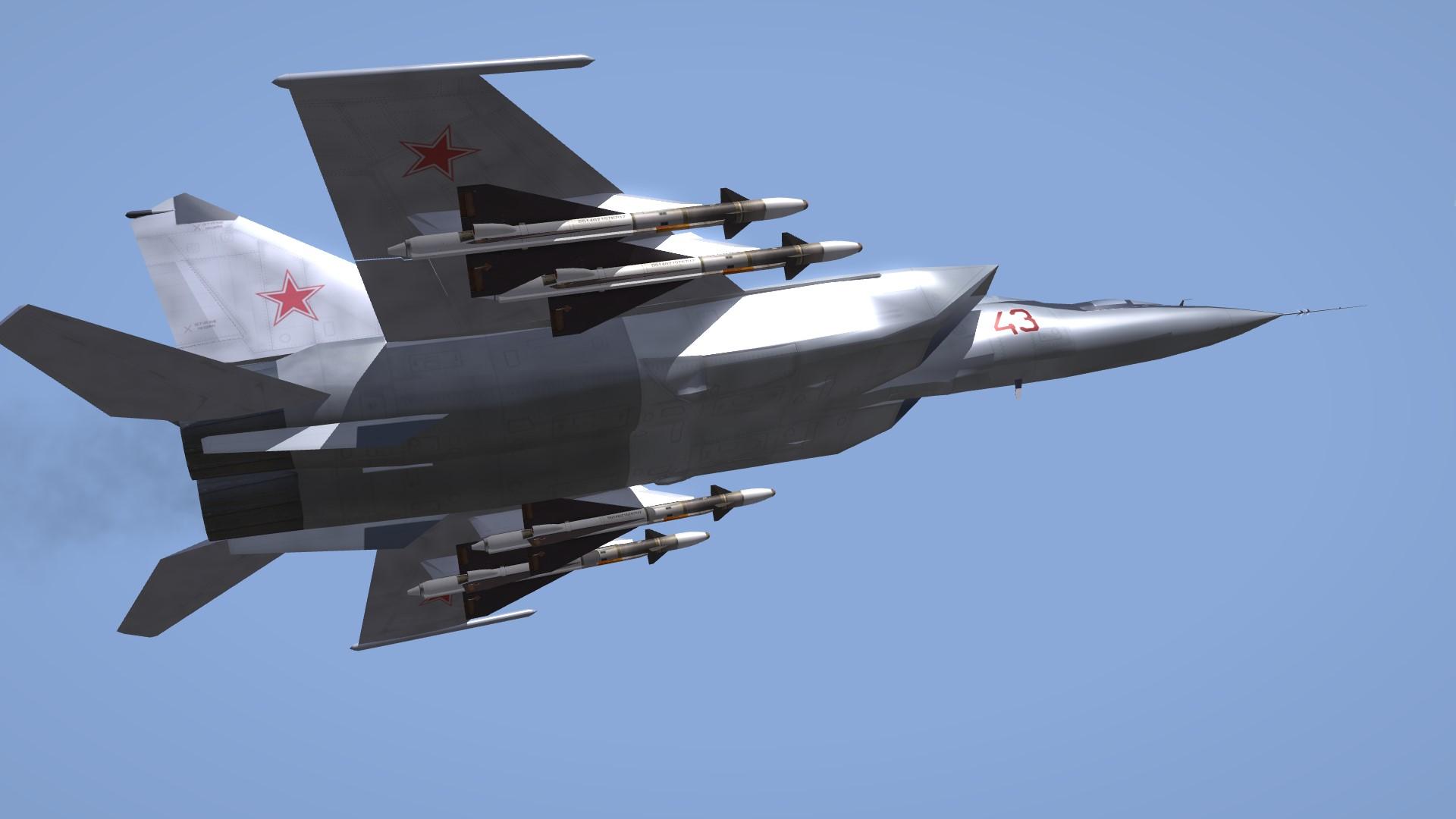 """MiG-25PU & RU """"Foxbat-C"""""""