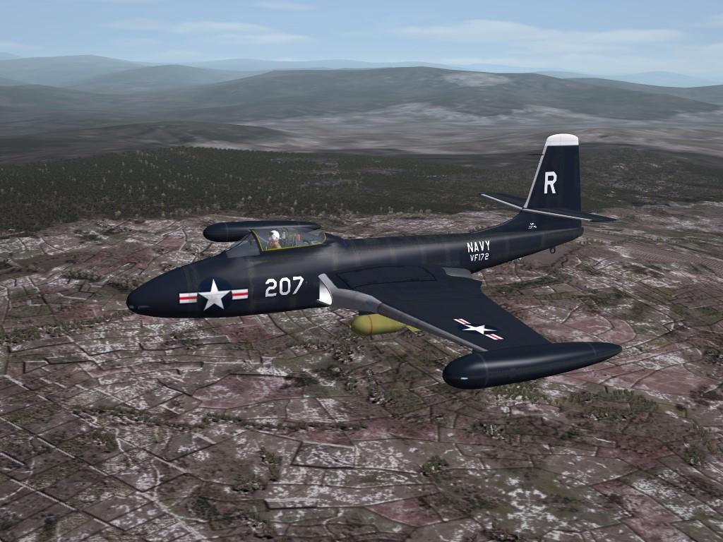 SF2 KAW F2H-2 Banshee Tweeks Pak -for Razbam Banshees