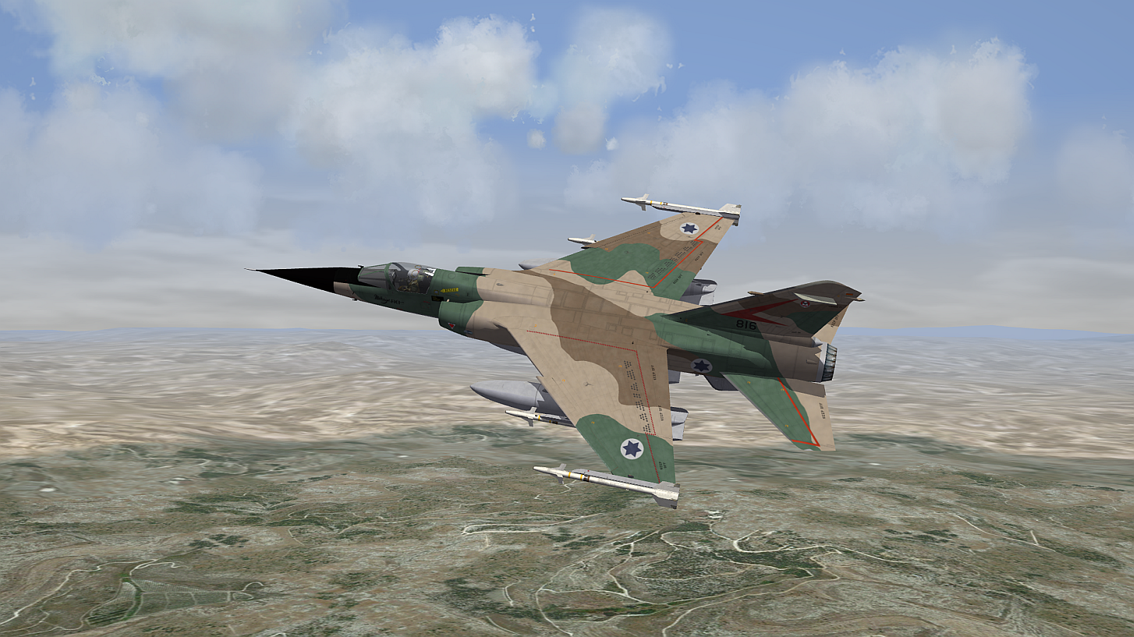 [Fictional] Dassault Mirage F-1CI for STRIKE FIGHTERS 2