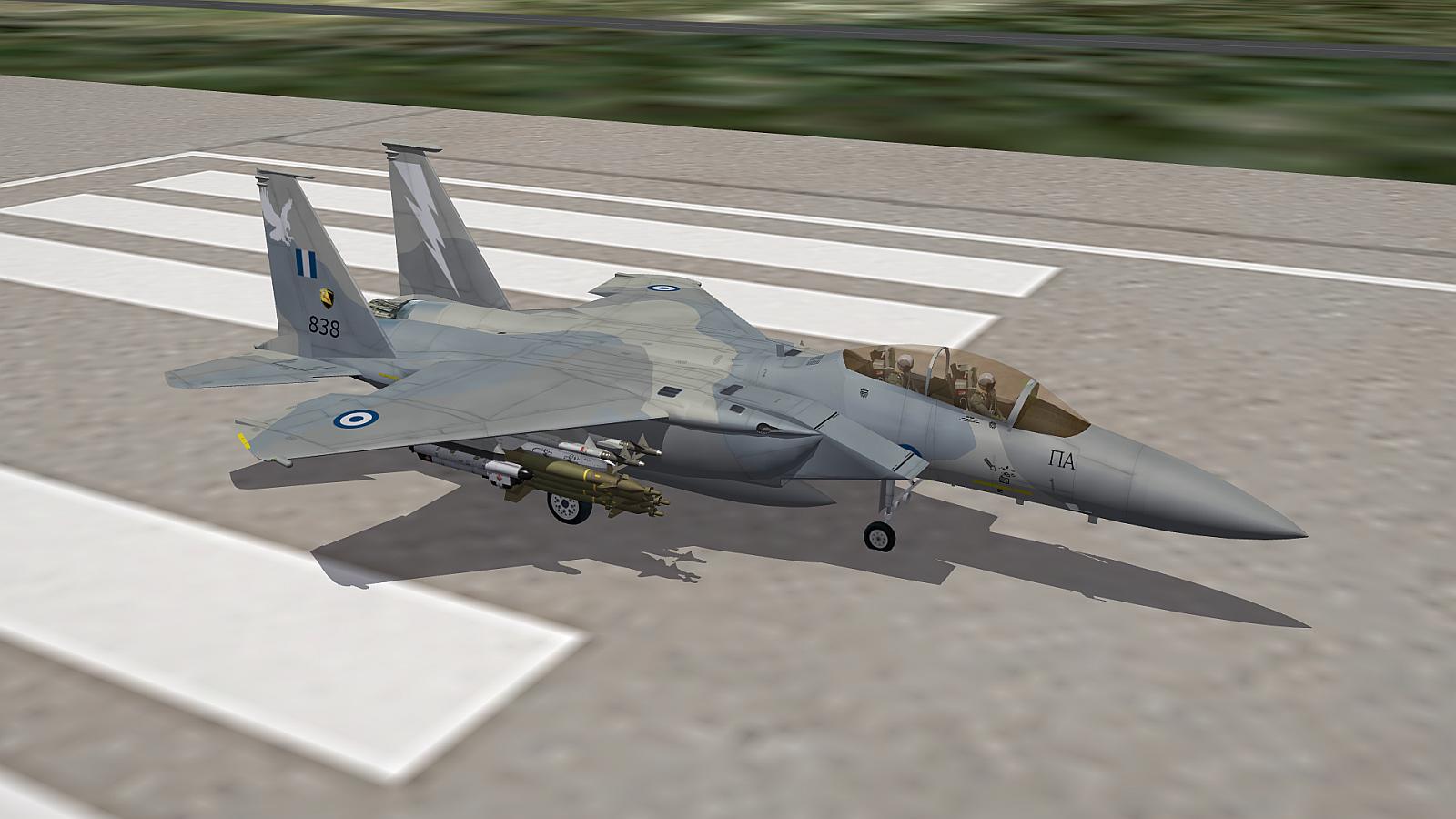 [Fictional] F-15 Eagle Skin Elleniki Aeroporia