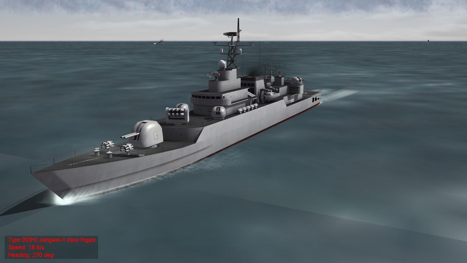 Jiangwei class frigates