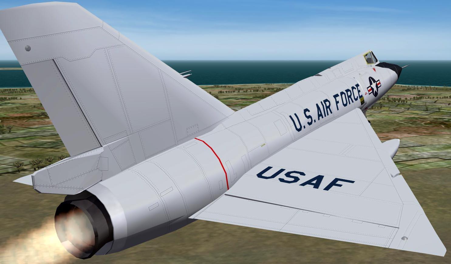 F-106A Templates for Pasko and Column5's Delta Dart