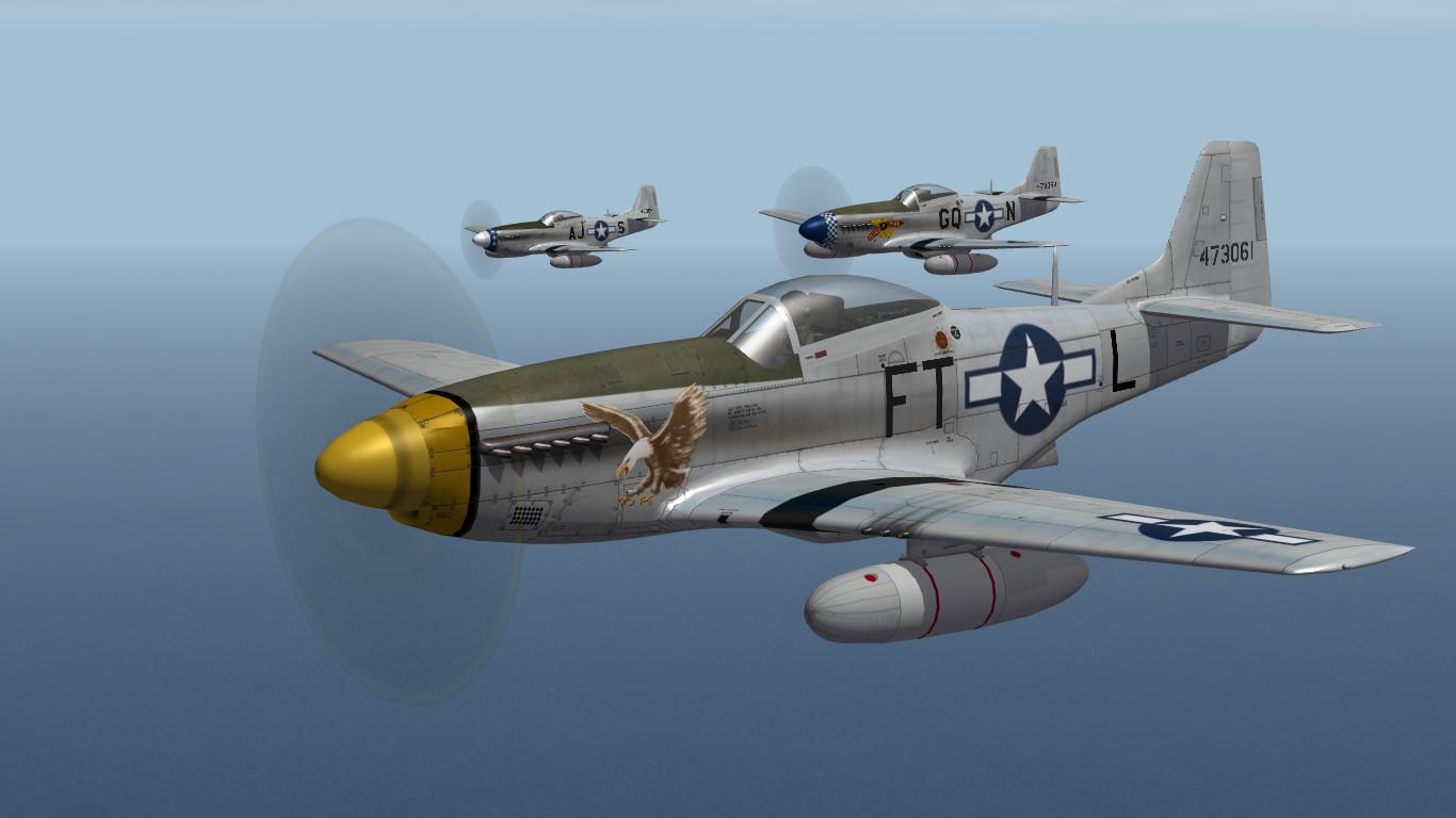 354th FG P-51 Mustang (TW)