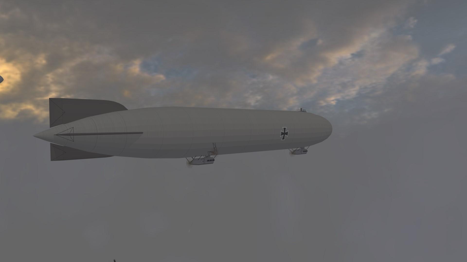 AI flyable rigid Airships