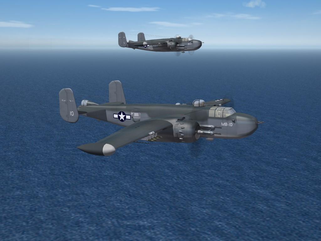 "SF2 WW2 PTO PBJ-1H Mitchell (USMC) ""Gunship""  Pak"