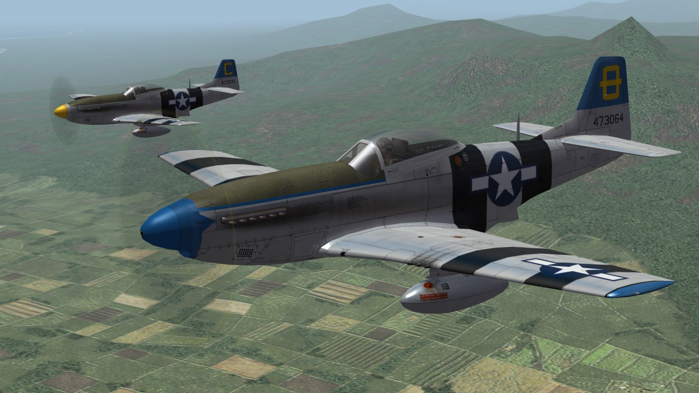 3rd ACG P-51 Mustang (TW)