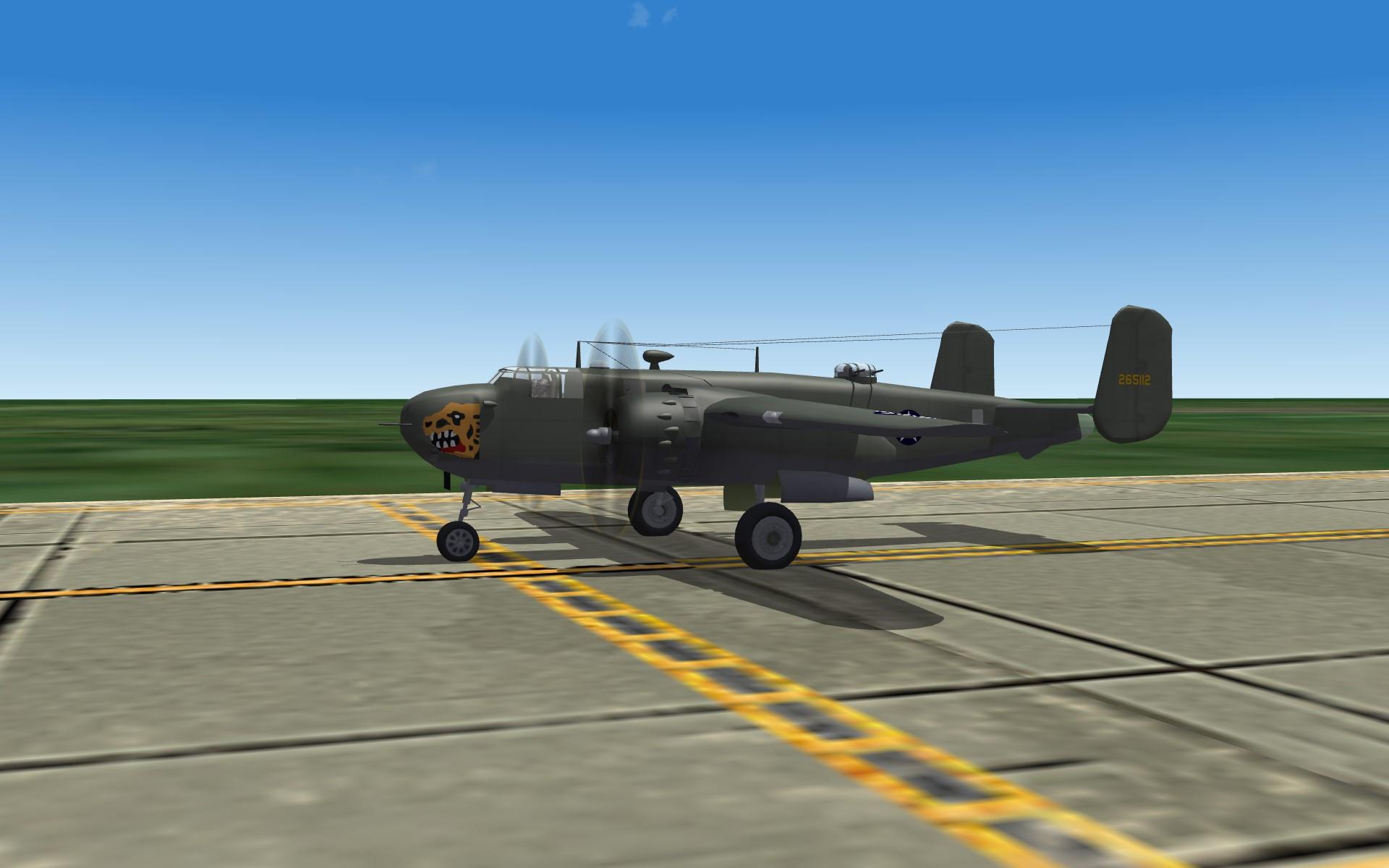"""PTO B-25G Mitchell """"Gunship""""  Pak"""