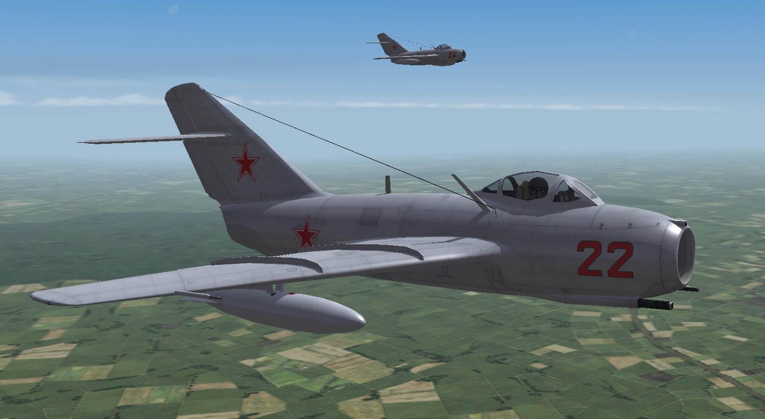 Red Tide Soviet Air Force 773 IAP MiG-15bis