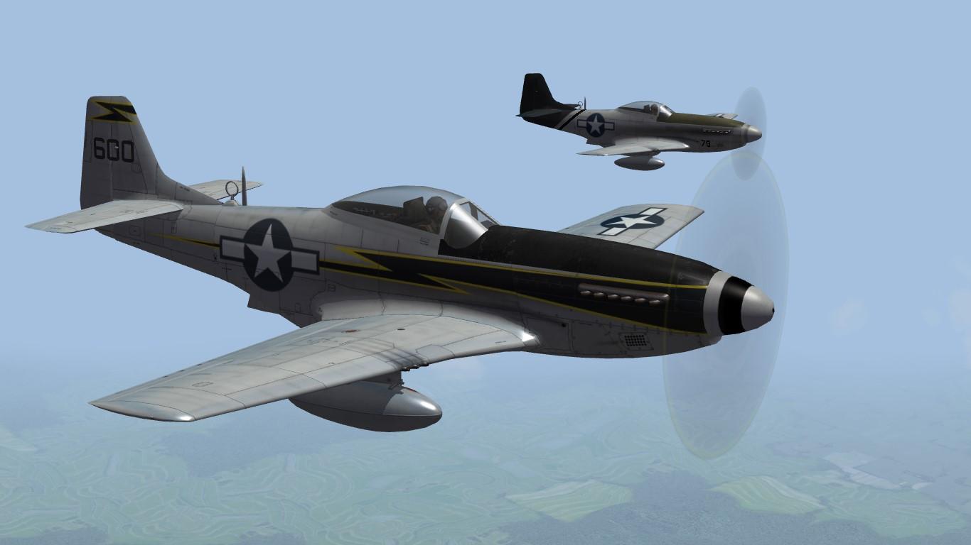 23rd FG P-51 Mustang (TW)