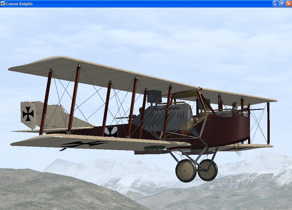 Hansa Brandenburg G1 Bomber