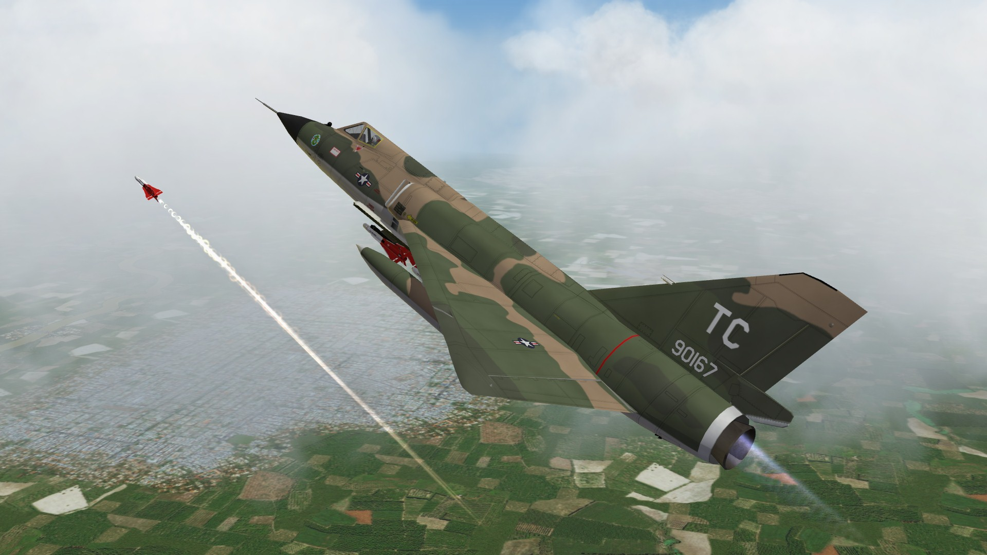 F-106A Delta Dart in Vietnam (What if)