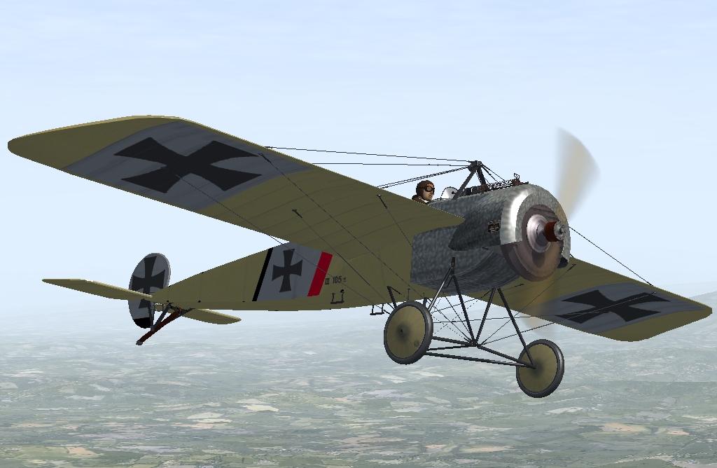 Ernst Udet Fokker E3