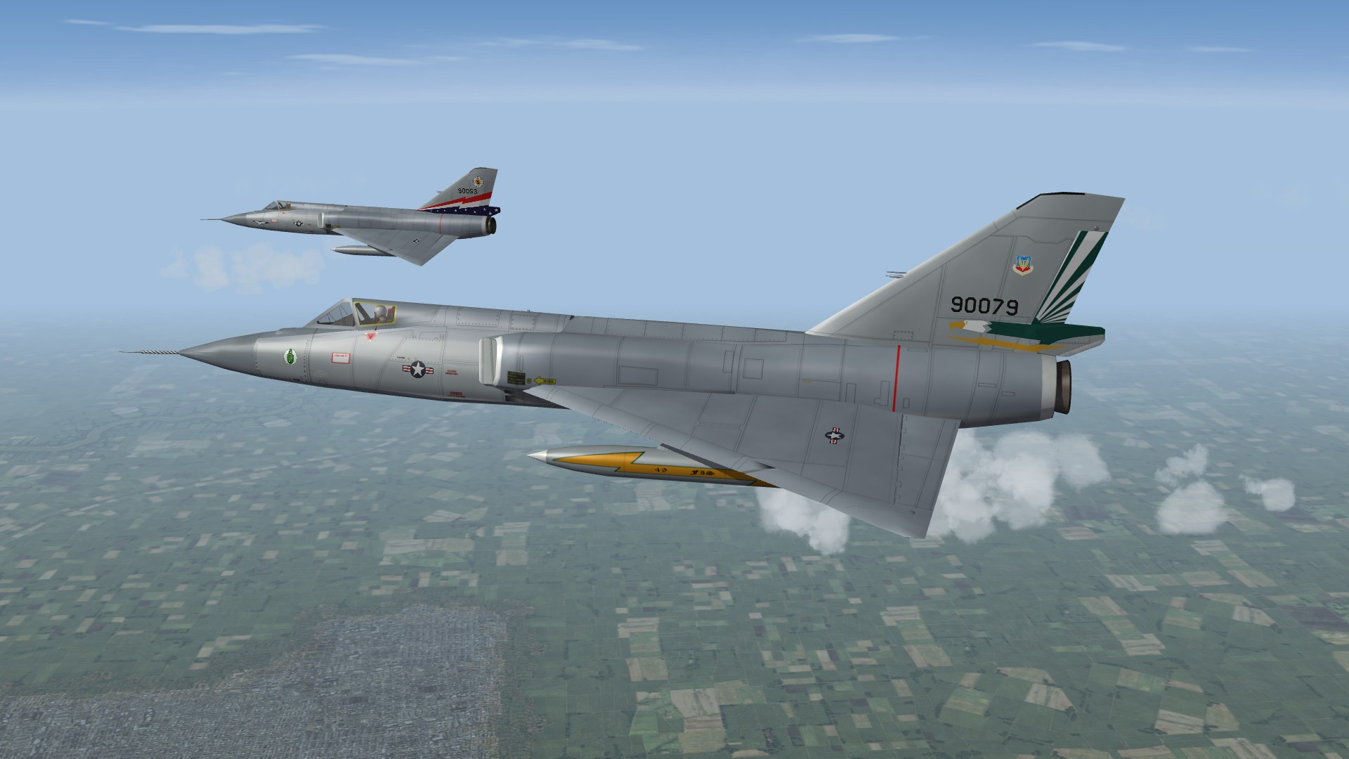 'What if' F-106A 'Extended Service' Skin pack