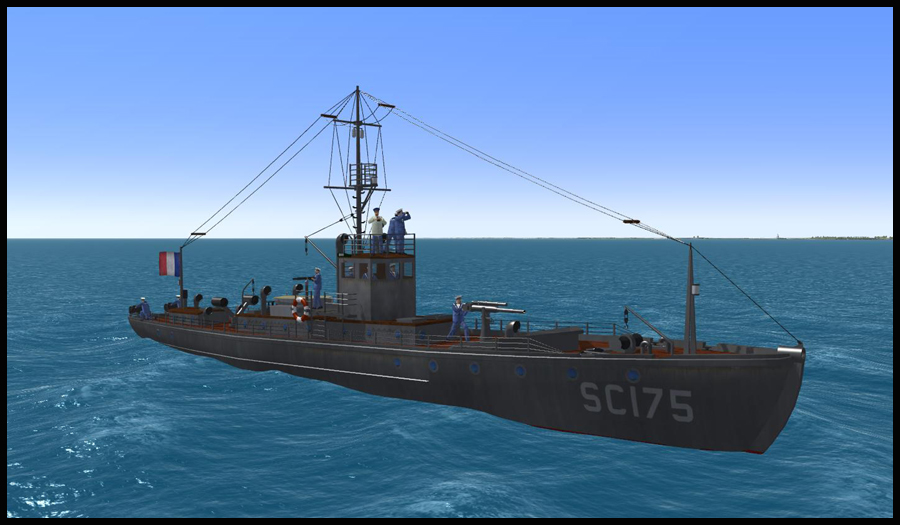 French Navy Subchaser