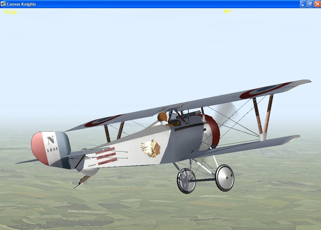 Raoul Lufbury Nieuport 17