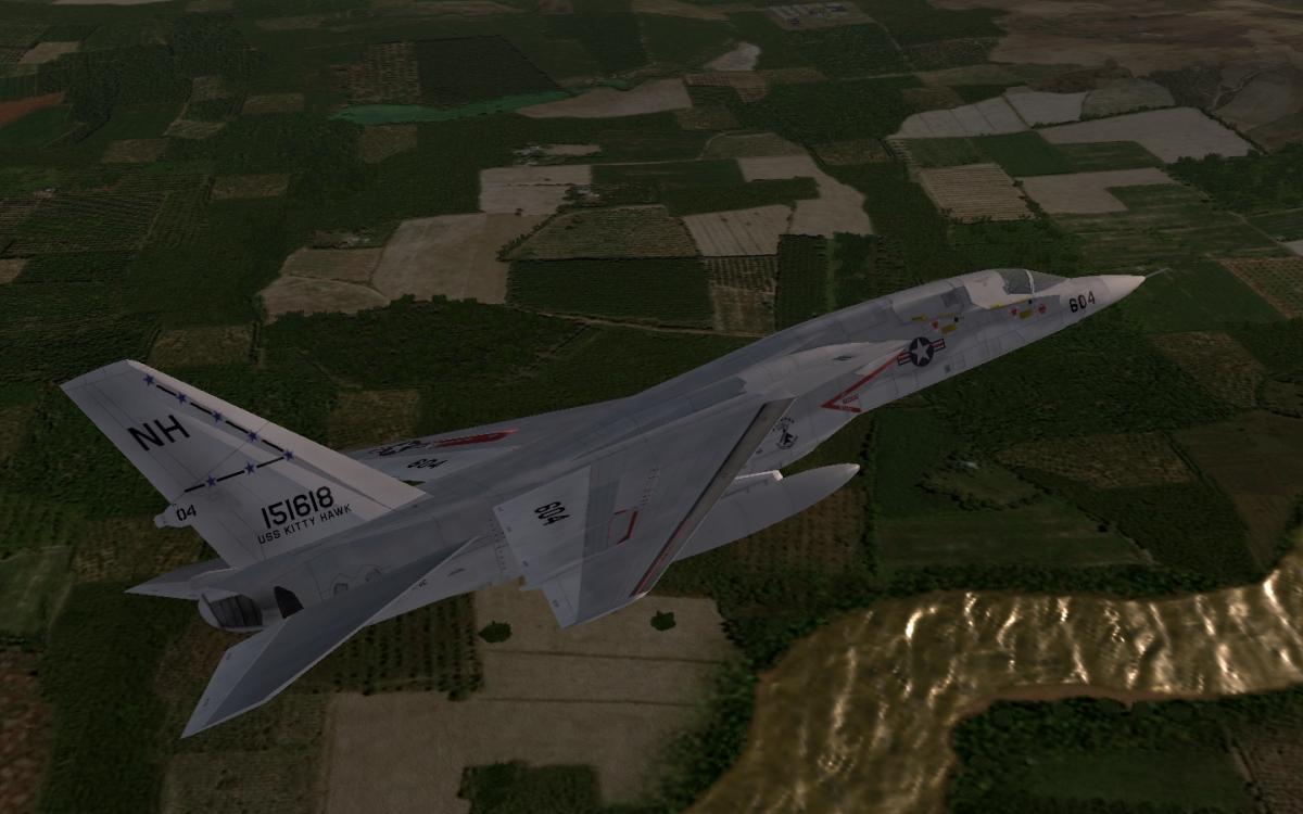 RA-5C Vigilante Over Vietnam