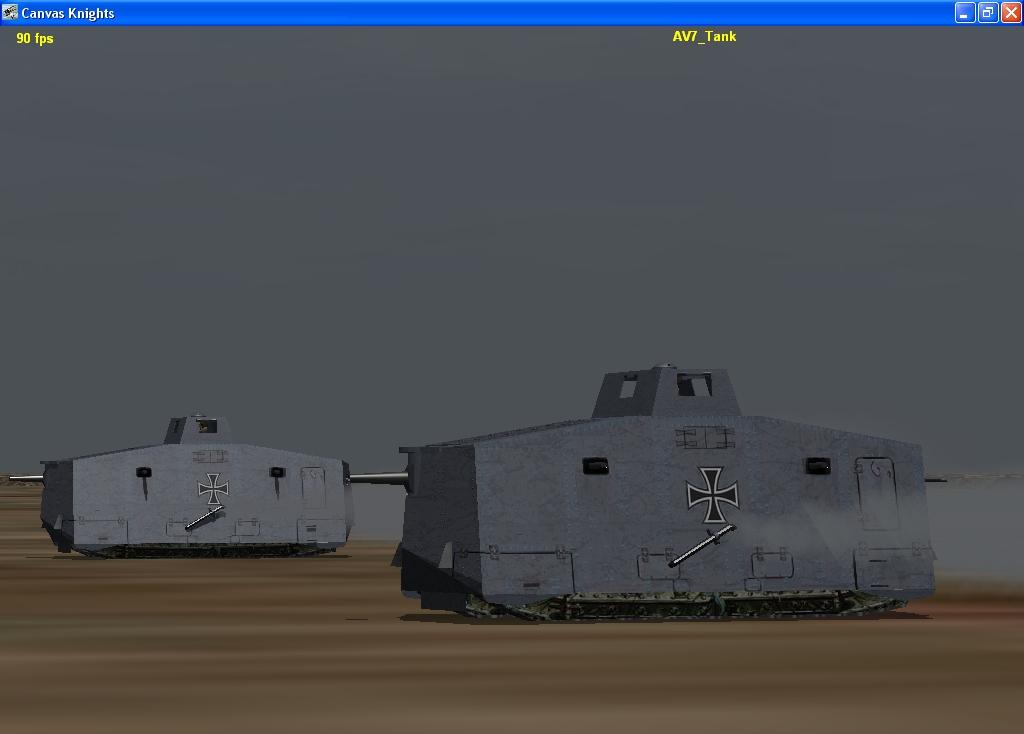 German AV7 Tank