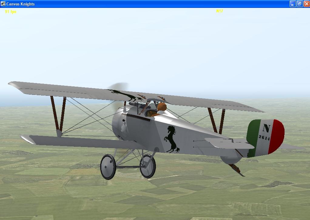 Francesco Baracca Nieuport 17