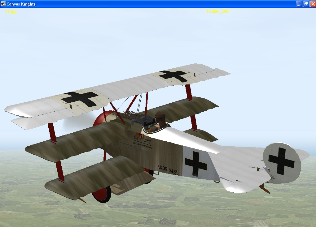 Hans Weiss Fokker Dr1