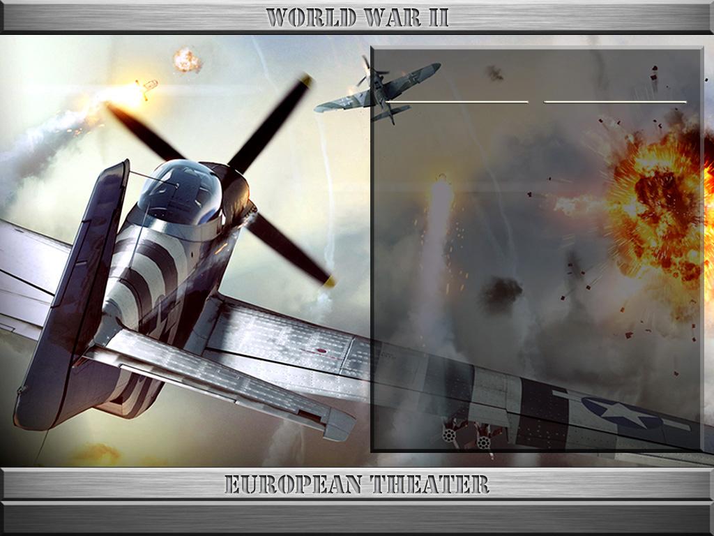 StrikeFighter2 World War II ETO Hi-Res Alternate 1024x768 Menu Screens and Music!