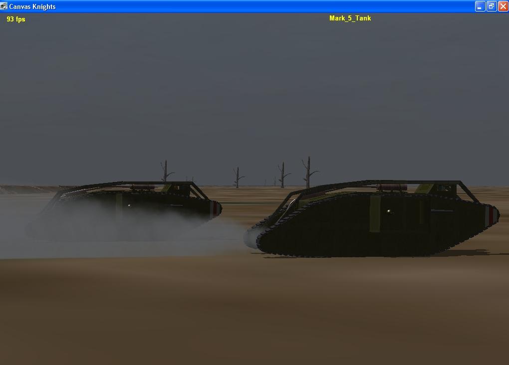 British Mark 5 Tank