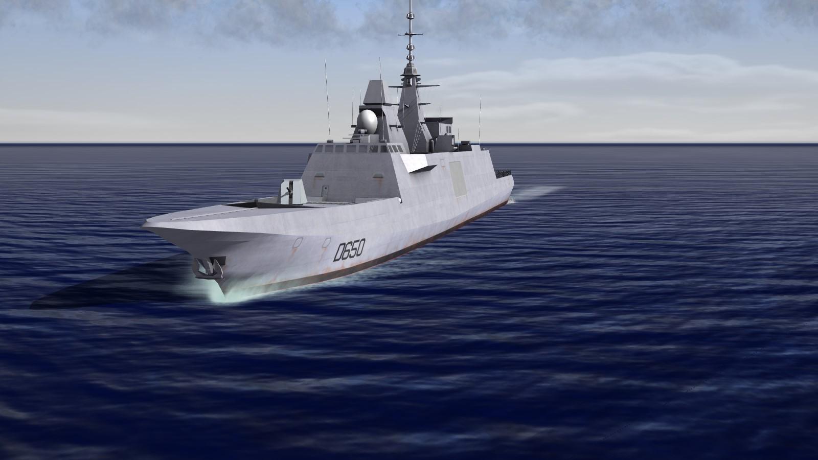 FREMM Aquitaine class frigate