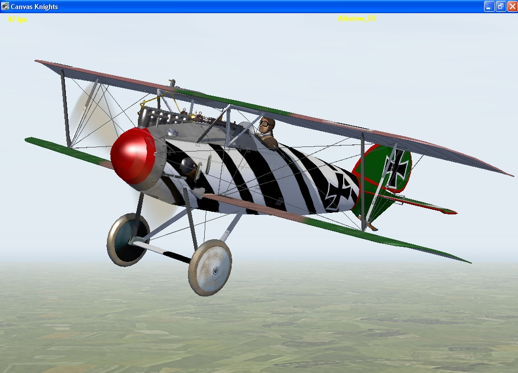 Fritz Rumey Albatros D5