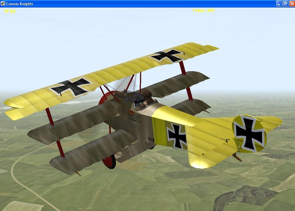 Lothar Von Richthofen Dr1