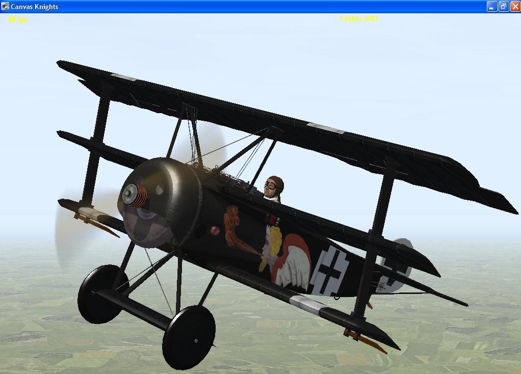 Josef Jacobs Fokker Dr1
