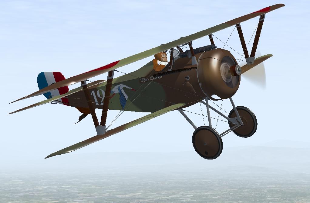 Pierre Dormella Nieuport 17
