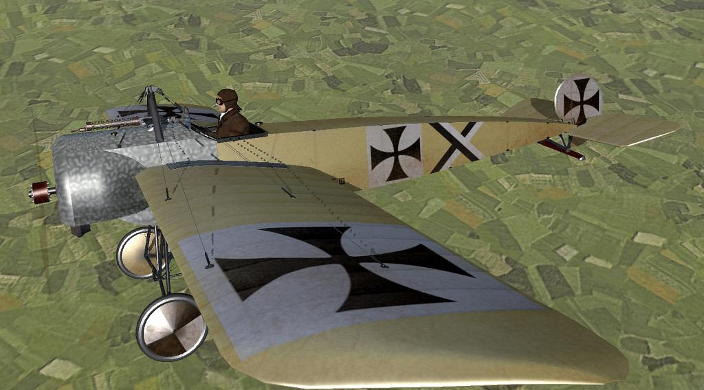 Lt Kurt Wintgens Fokker E3
