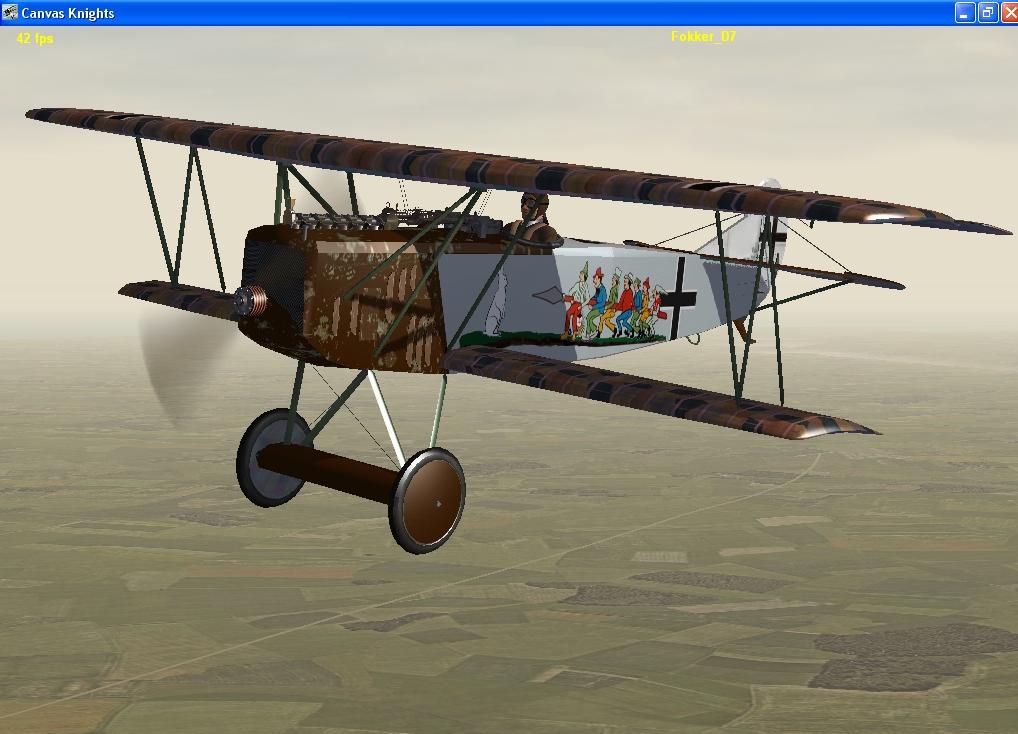 7 Schwaben Fokker D7