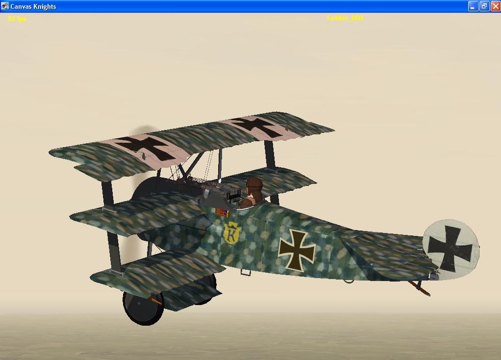 Blue Max Fokker Dr1