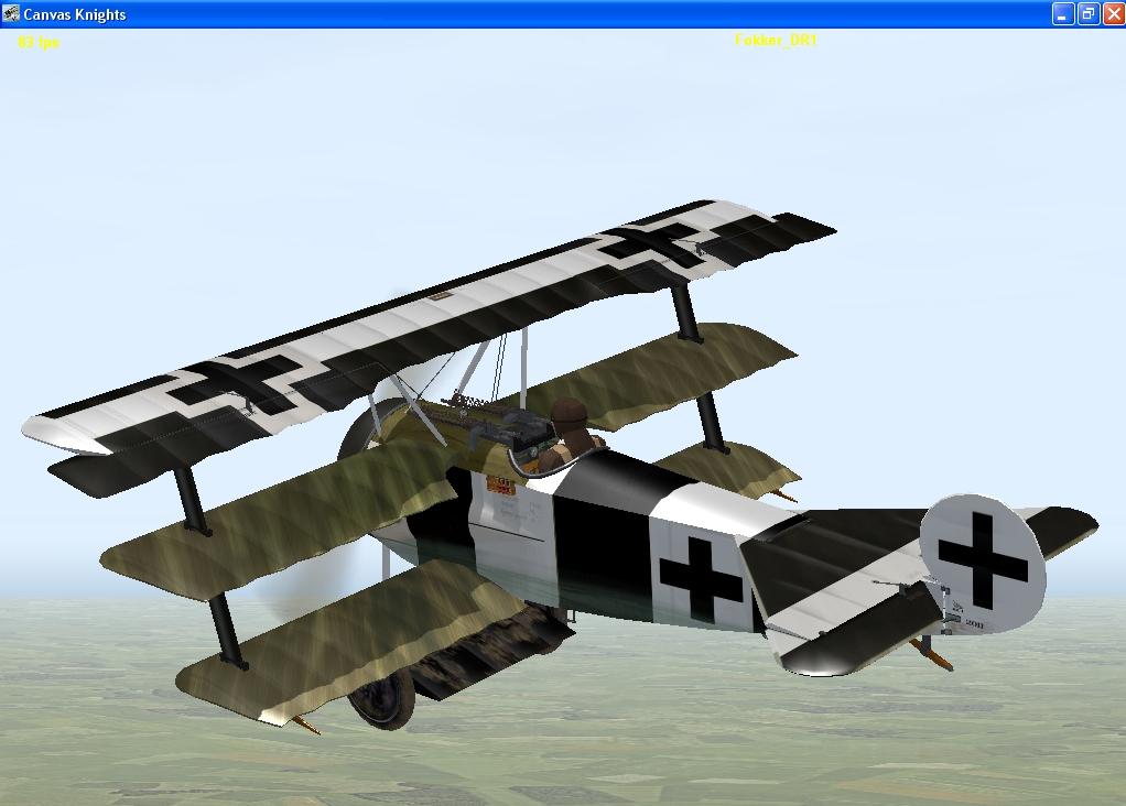 Bruno Loerzer Fokker Dr1