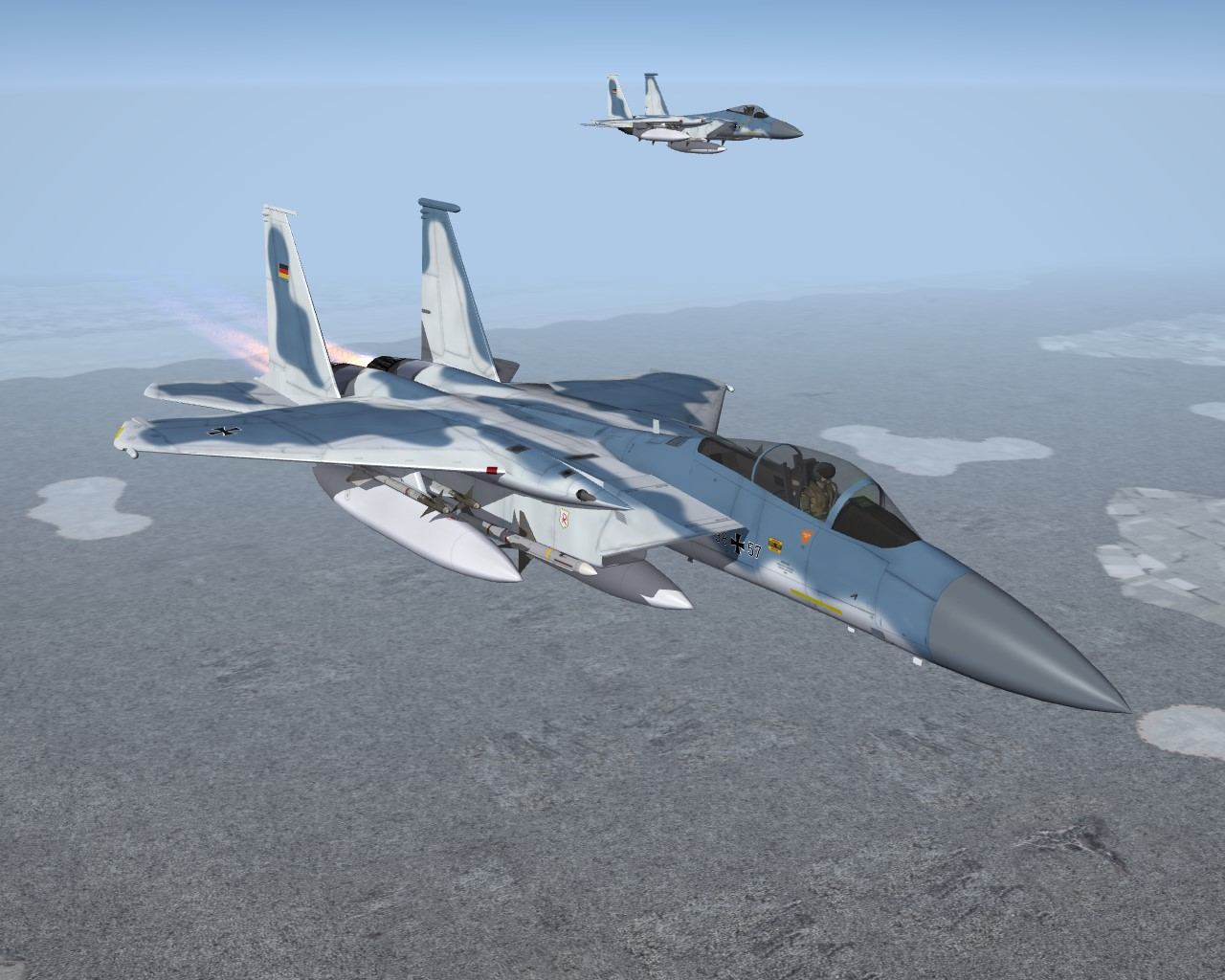 SF2 F-15 GAF Eagle Pack Redux 2016 (Fictional)