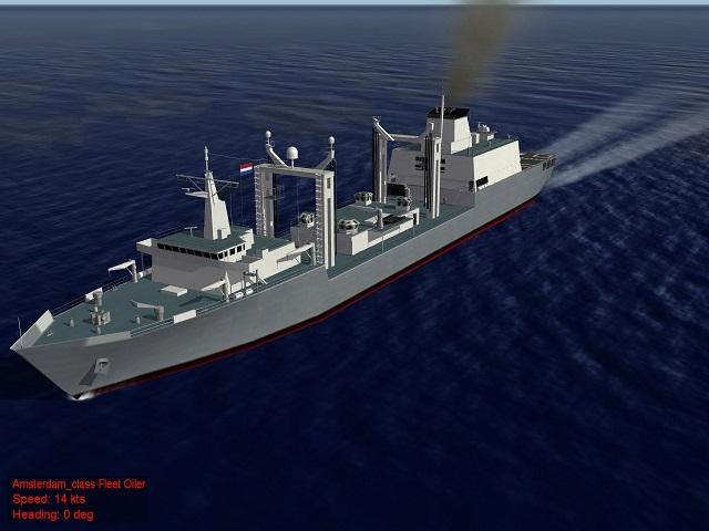 SF 2  E/NA  Amsterdam class Oiler Fleet