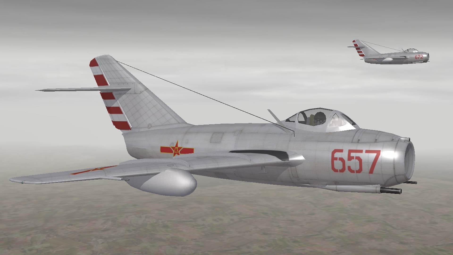 V-VS 72th GvIAP MiG-15 Korean War(Nov 1950)