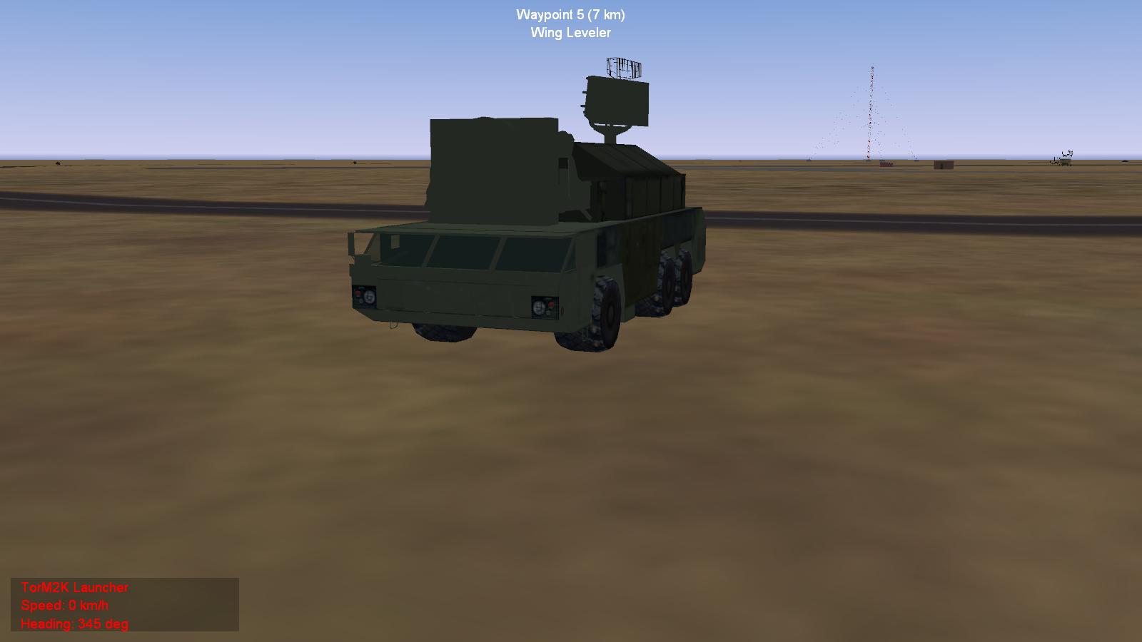 SAM Kupol 9K332 Tor M2E