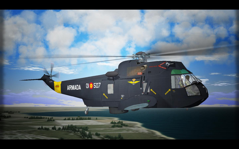 HS.9 SeaKing. Arma Aerea de la Armada Española