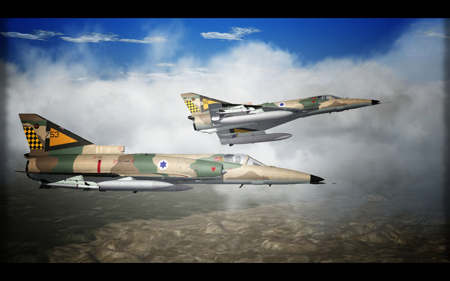 Kfir Over Israel. SF2.