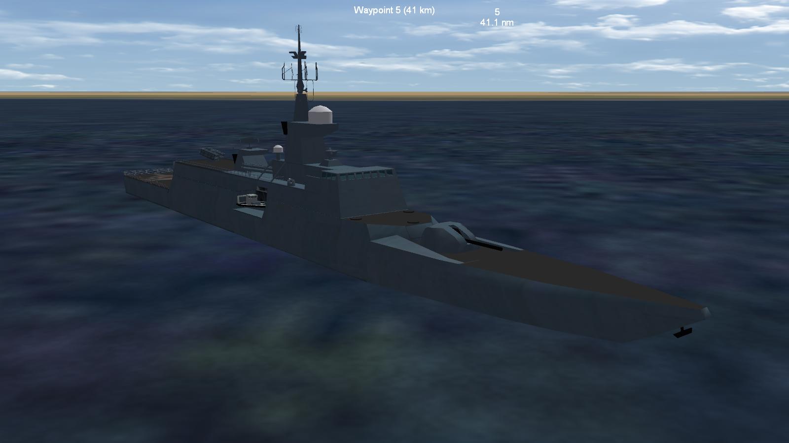 Aconit Class Frigate