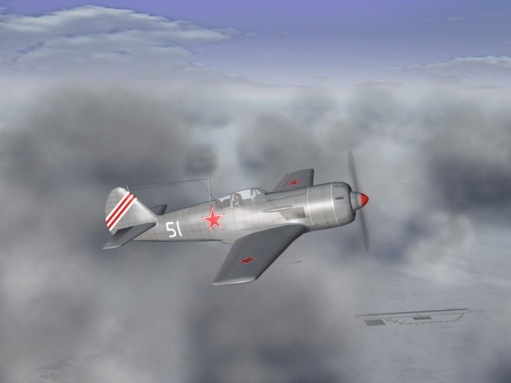 SF2 Lavochkin La-9 FM Tweeks Pak
