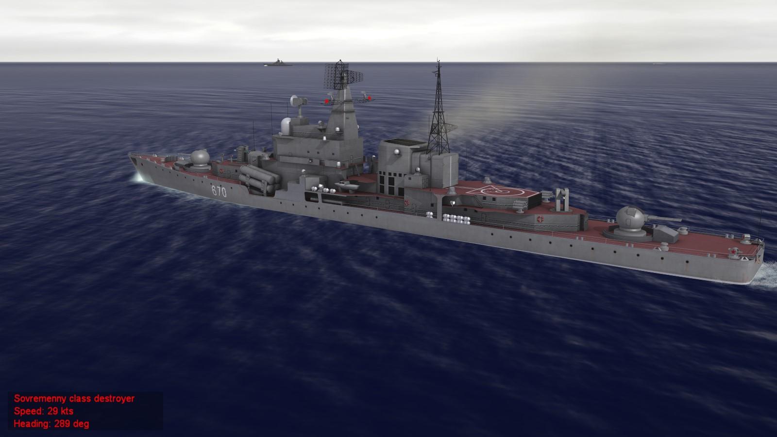Sovremenny class destroyer