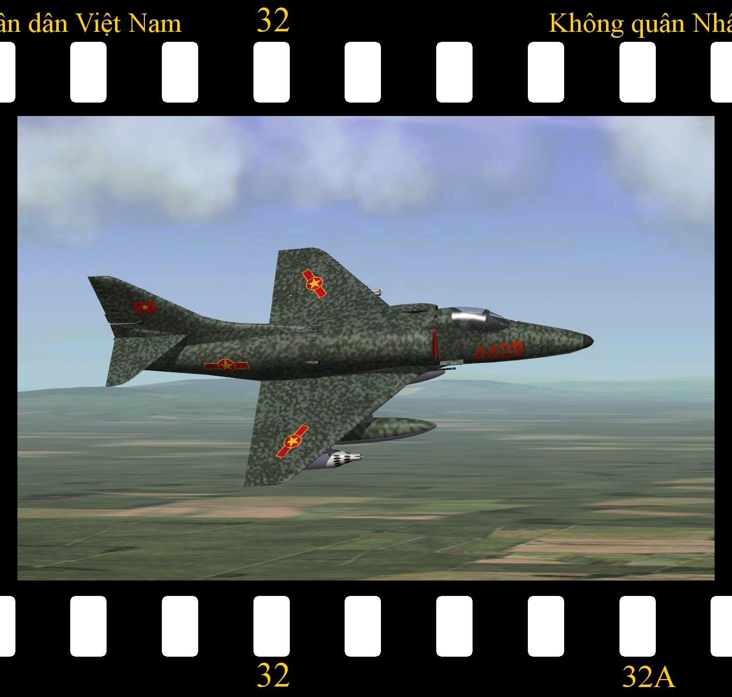 [Fictional] Douglas A-4E Skyhawk 'VPAF'