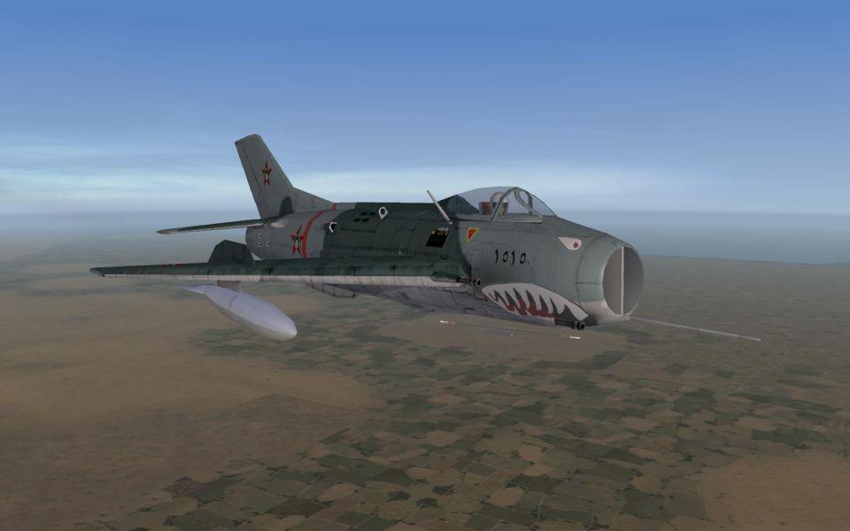 Parani MiG-19/F-6 w sharkmouth 2
