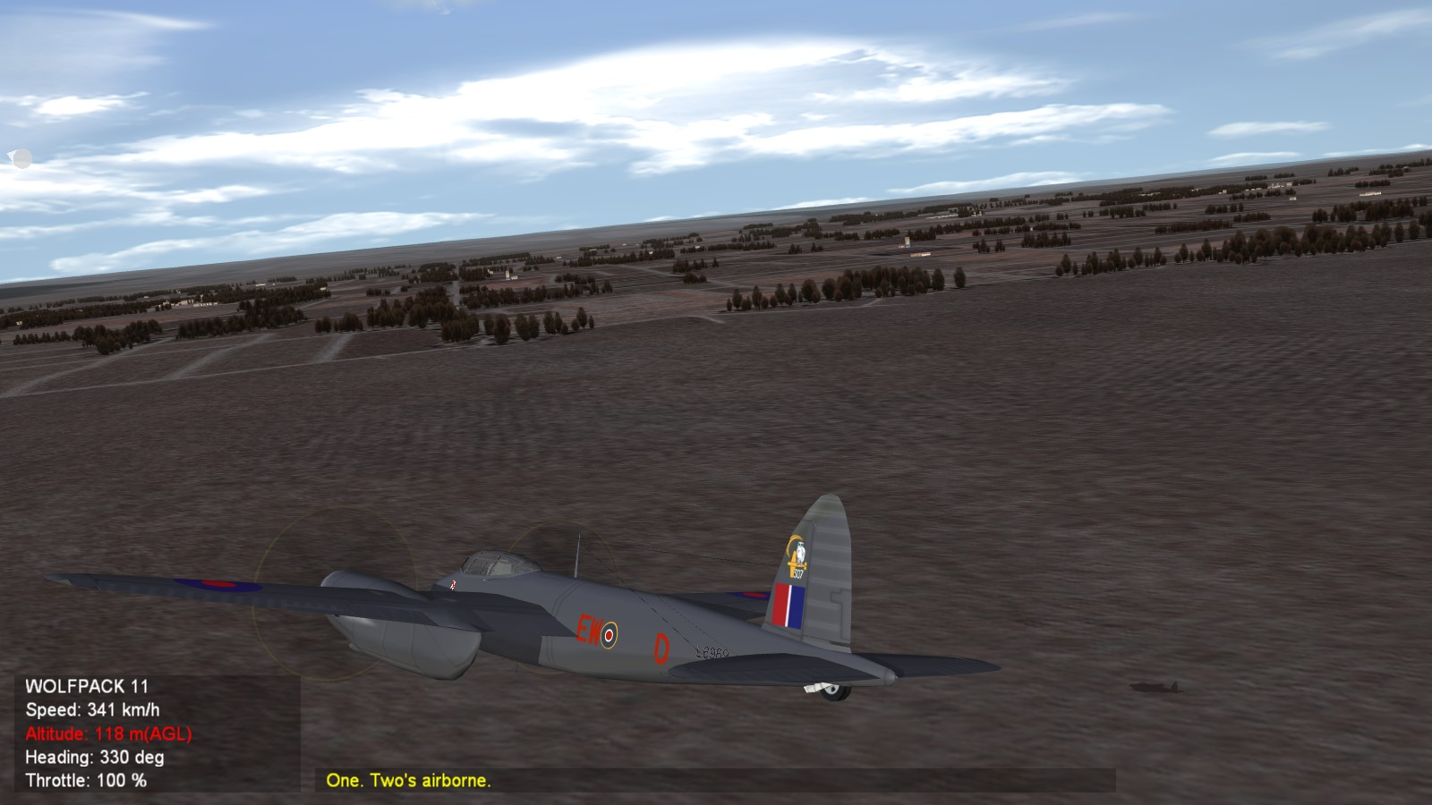 De Havilland Mosquito Polish Squadrons (305,307)