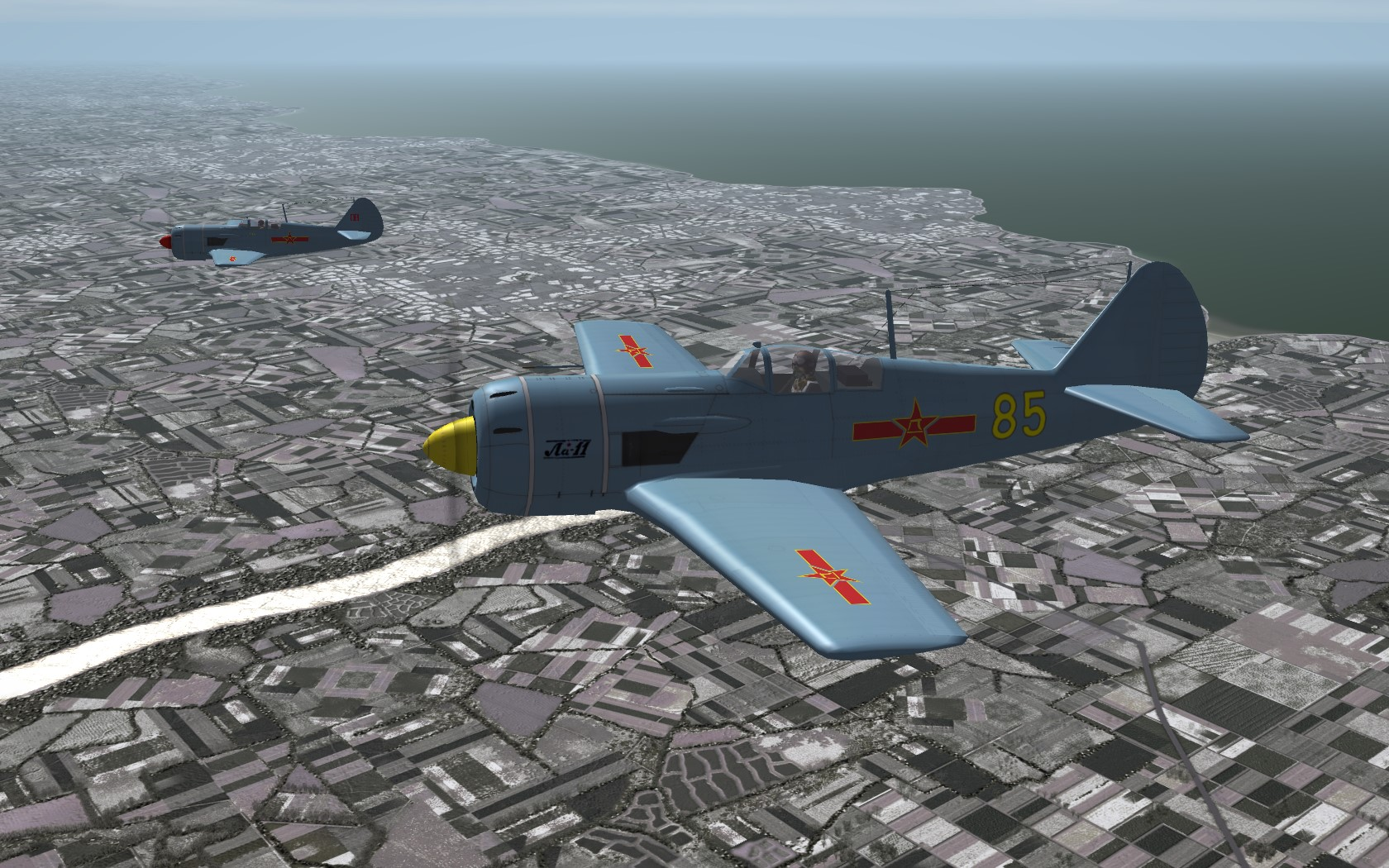 Lavochkin La-9 Fritz & La-11 Fang
