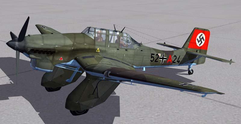 Junkers Ju-87A-2 Stuka