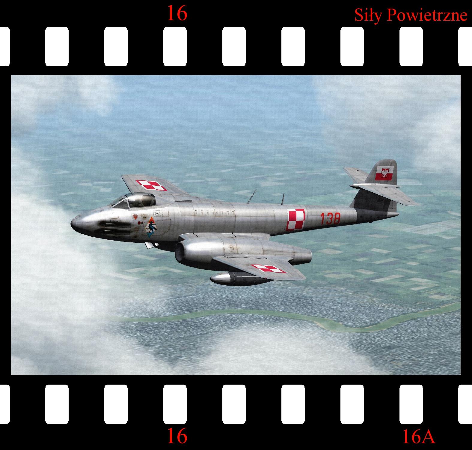 [Fictional] PZL-60 (Polish Gloster Meteor F.8)