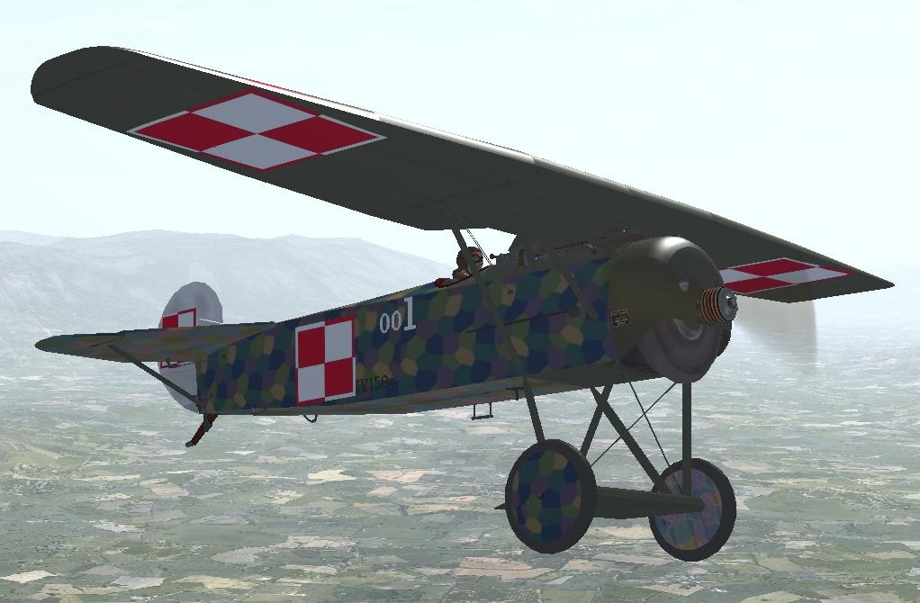 Fokker EV / D8 Polish